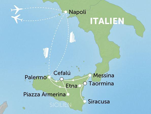 Rejse Til Sicilien Rejs Til Sicilien Og Oplev Natur Og Kultur