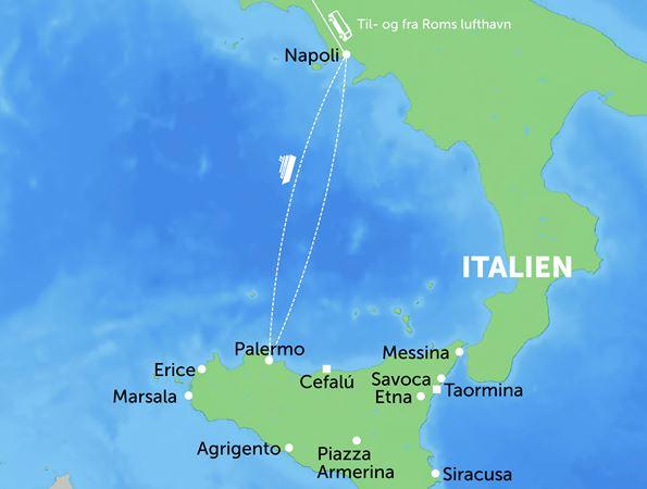 Rejse Til Sicilien 15 Dages Kulturrejse Best Travel
