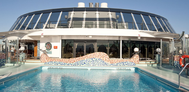 MSC Splendida - Storslående krydstogtskib med luksus ...